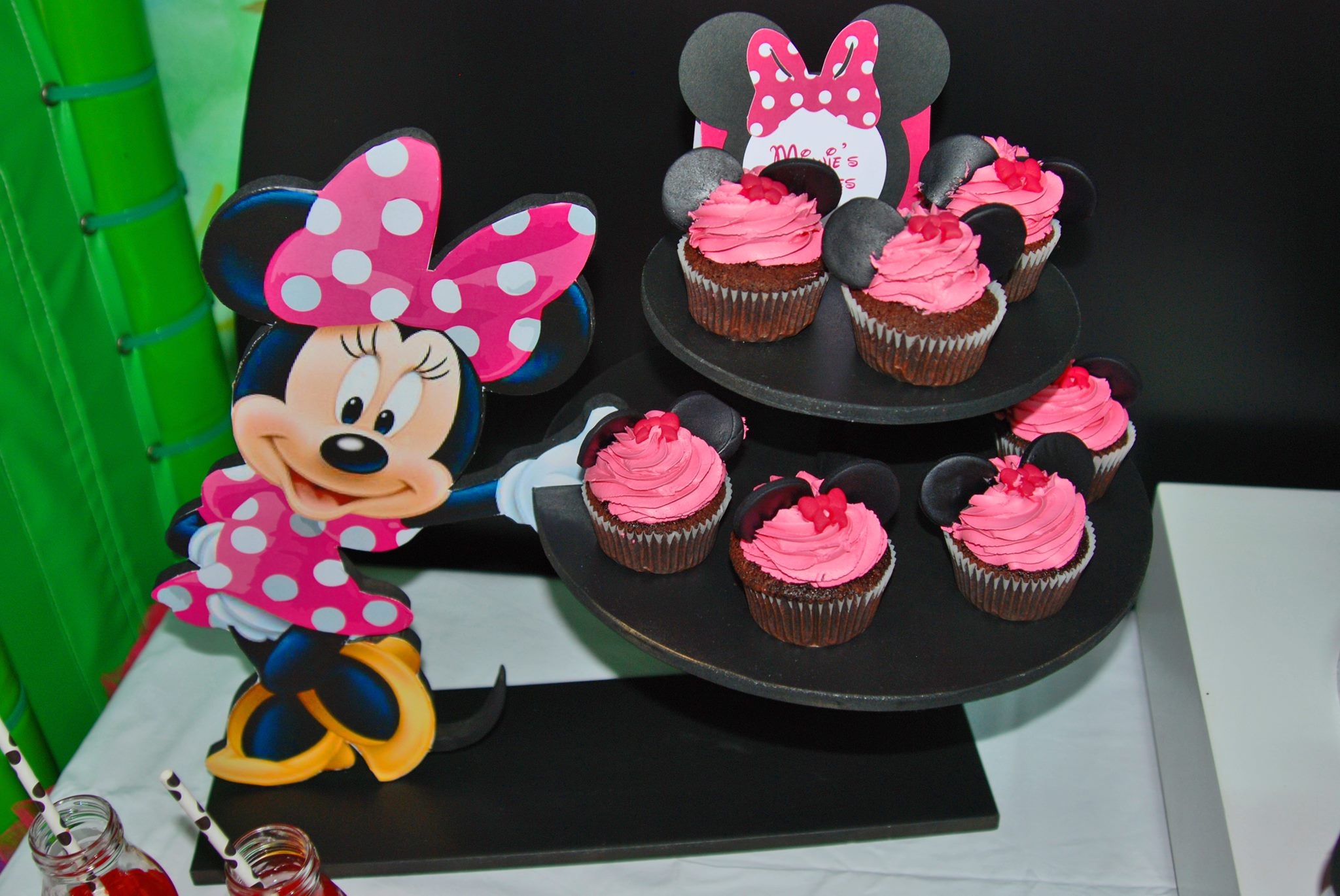 Cupcake stand sweets minnie mouse