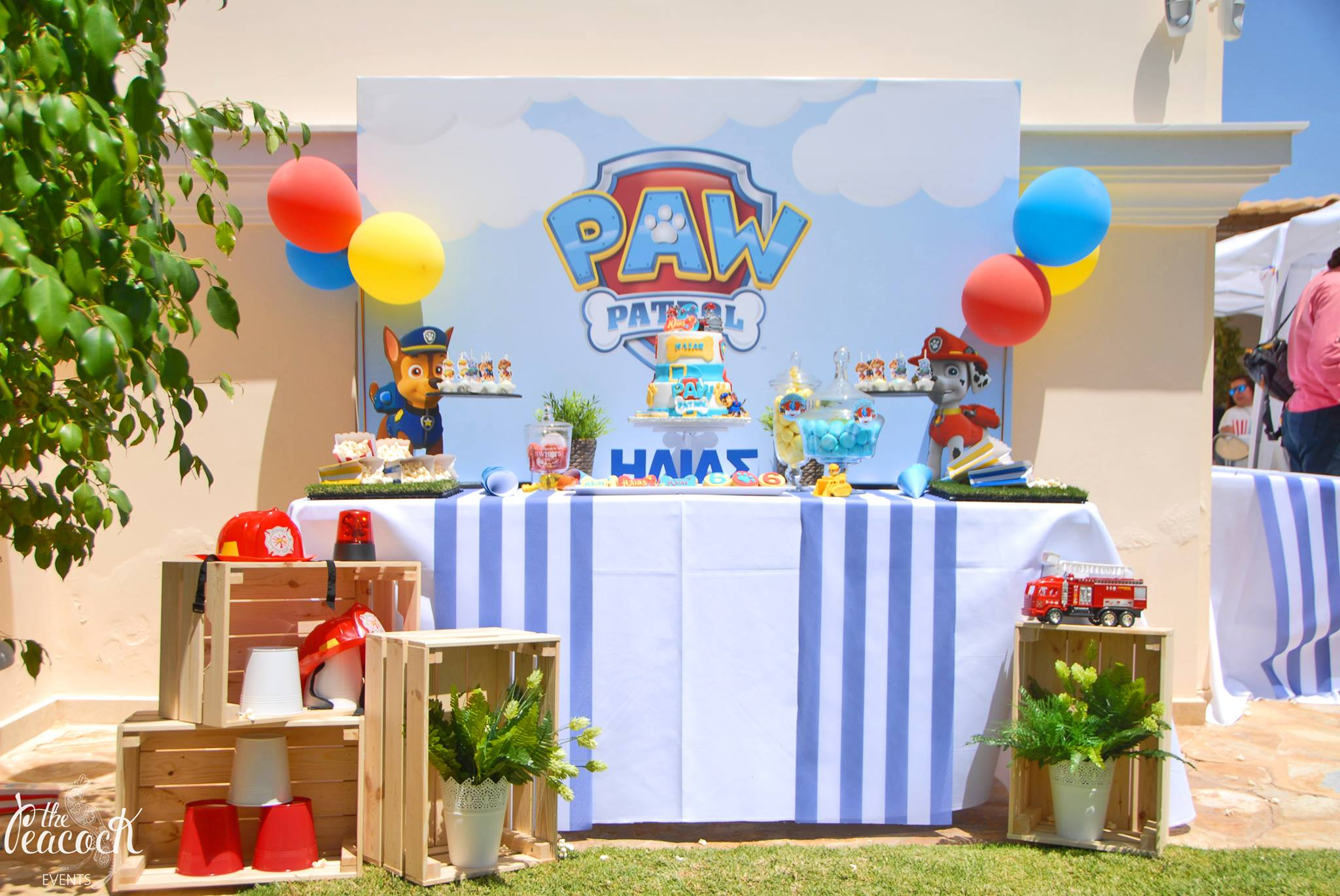 Candy bar Paw Patrol (1,80x2,00m)