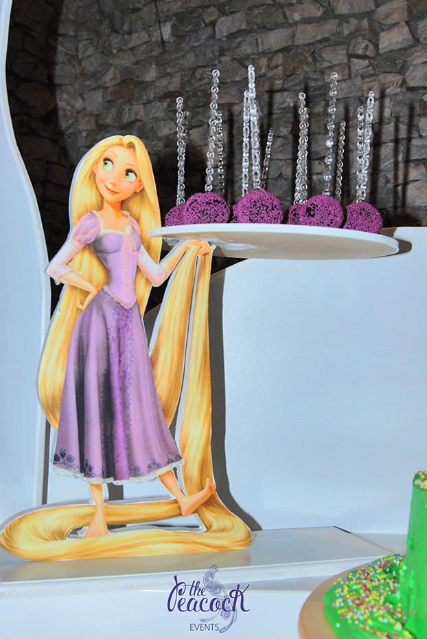 Cupcake stand sweets Rapunzel