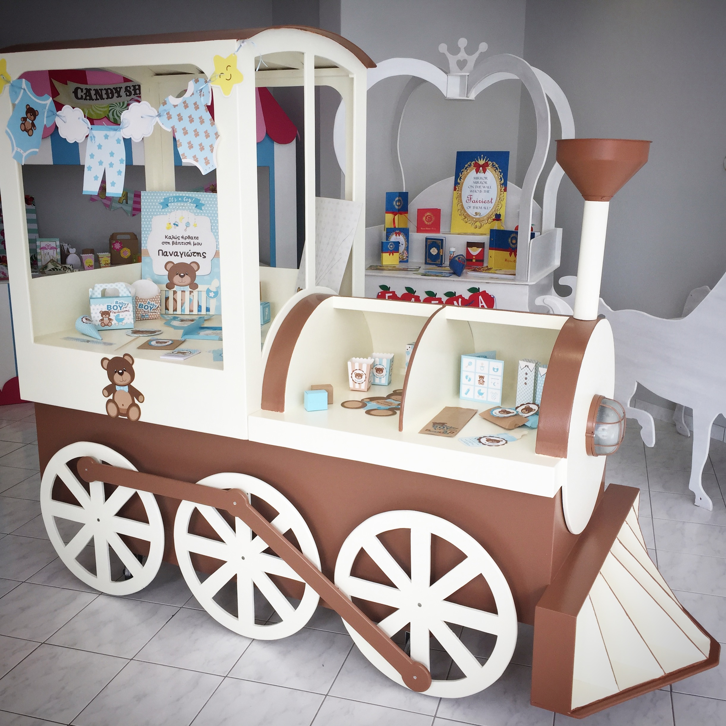 Steam Train candy cart