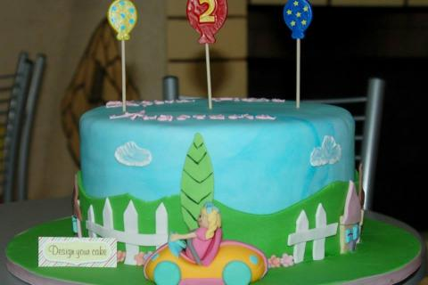 Mother goose club cake